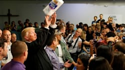 Donald Trump Revels In Recounting The 'Very Good Towels' He Threw To Hurricane