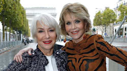 Jane Fonda And Helen Mirren Stole The Show At Paris Fashion
