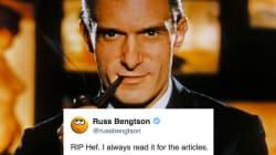 Hugh Hefner Fans On Twitter Thank Him For The