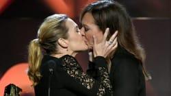 Kate Winslet Kissed Allison Janney At The Hollywood Film