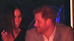 Prince Harry Kisses Meghan Markle At The Invictus