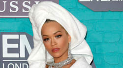Rita Ora Wore A Bathrobe And Heels On The MTV EMAs Red