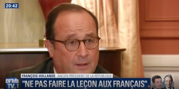 Gouvernance de Macron : François Hollande se pose en conseiller
