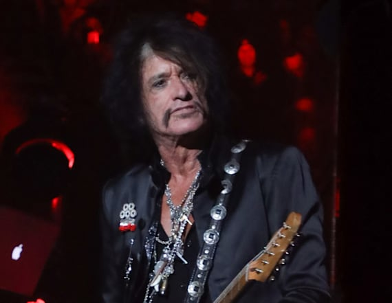 Aerosmith's Joe Perry 'alert' after hospitalization