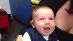El maravilloso vídeo de un bebé que oye por primera