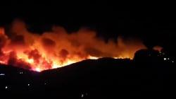 Les impressionnantes images du nouvel incendie près de