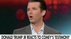 Donald Trump Jr. voulait défendre son père face au FBI... mais le contredit