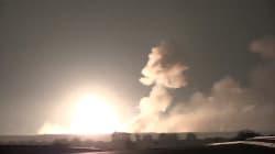 Les images impressionnantes de l'incendie qui a ravagé un dépôt de munitions en