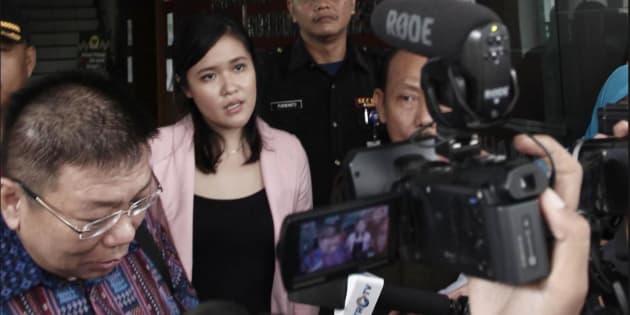 Jessica Kumala Wongso who is accused of murdering friend Wayan Mirna Salihin in Indonesia