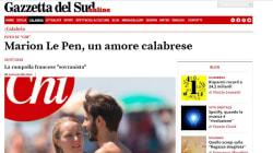 La presse italienne s'emballe sur la relation de Marion Maréchal avec un militant de la Ligue du