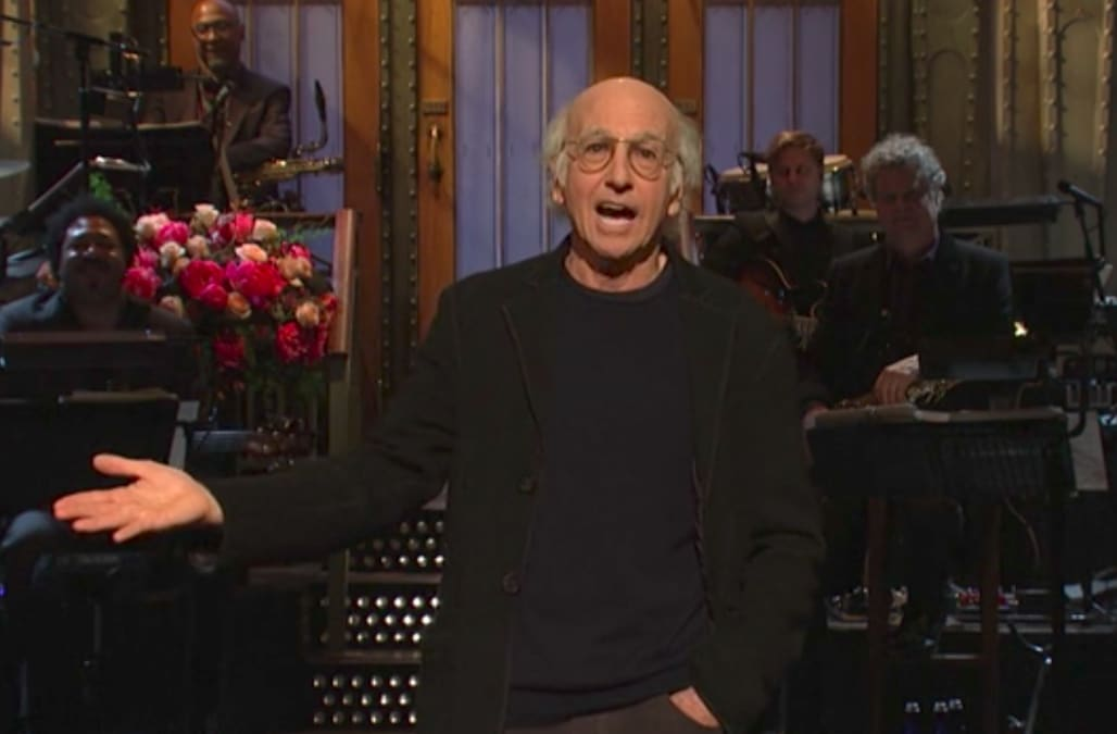 Larry David Criticized For Snl Monologue On Jewish Sexual