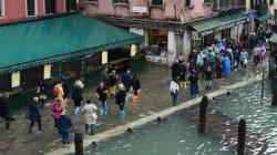 VIDEO: Venecia con la peor inundación en una