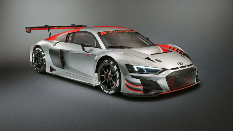 2019 Audi R8 Lms Gt3 Customer Race Car Unveiled In Paris Autoblog