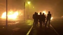 Les images de la deuxième nuit de tensions dans les quartiers de