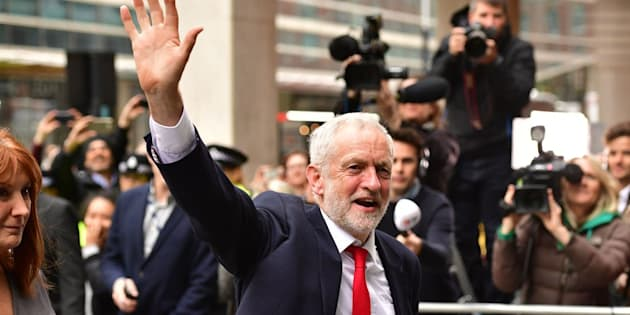 """Jeremy Corbyn the morning after his unexpected performance in the general election, which US socialists are hailing as""""proof of concept"""" that the left can succeed."""