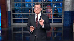 Stephen Colbert: Trump Is Now A Character In A Racist Fairy