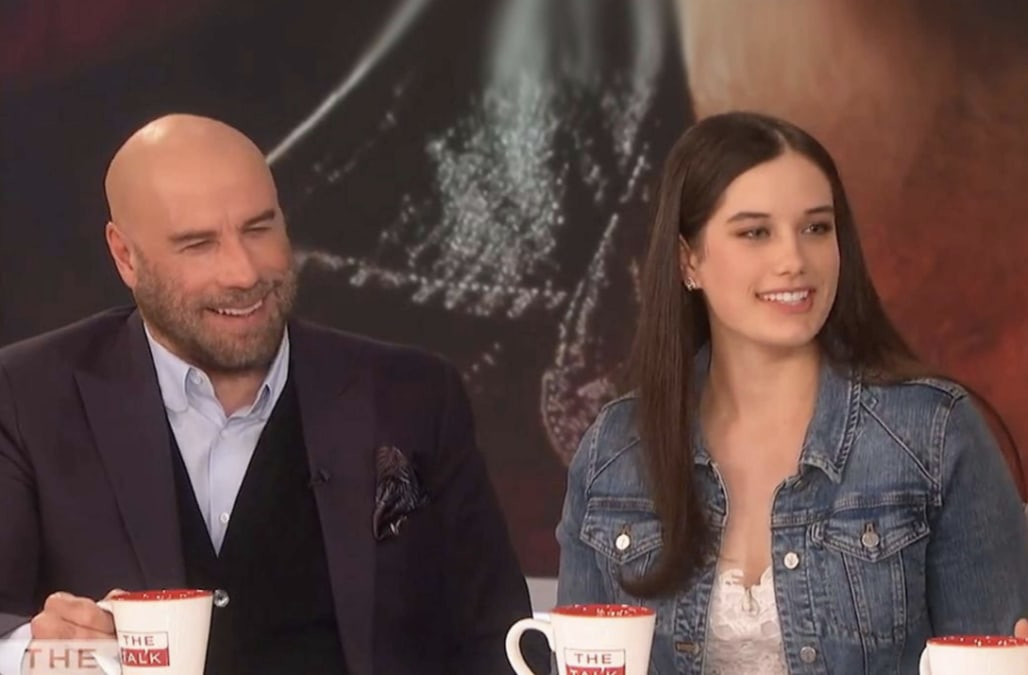 John Travolta says he's a 'ridiculous' stage dad to daughter