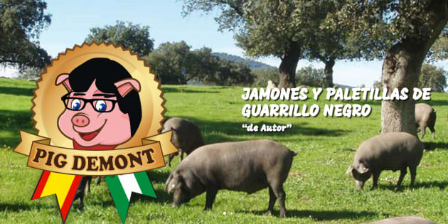 La Oficina de Patentes y Marcas prohíbe utilizar el nombre Pig Demont a una empresa andaluza