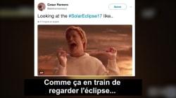 Il n'y a pas eu d'éclipse du LOL, bien au