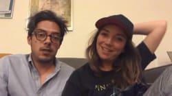 VIDEO: Regina Blandón y Roberto Flores aceptan que están