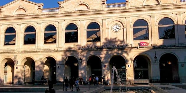 La gare de Nîmes évacuée, une intervention de police sur place