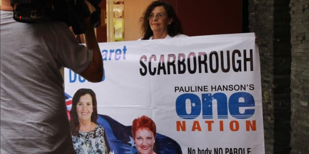 WA One Nation candidate Margaret Dodd has quit the party a day before polls open on election day.