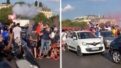 Après France-Uruguay, la foule des grands jours sur les
