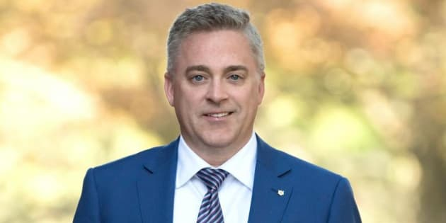Ontario MPP Michael Harris is shown in an image from his Facebook page.