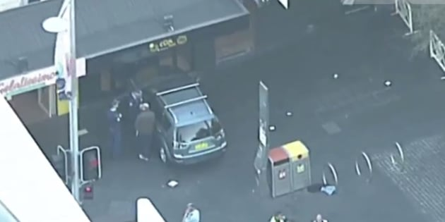 Police investigating vehicle driving into shop in Chatswood Mall in Sydney