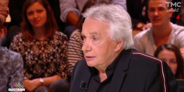 Dans Quotidien, Michel Sardou parle de sa passion pour les armes