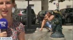 Françis Lalanne s'incruste en plein direct sur BFMTV à
