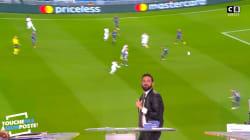 Hanouna commente le début de PSG/Bayern mais rate le premier