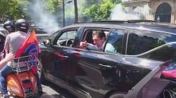 Un essaim de Vespa dans les rues de Paris pour accueillir Gianluigi