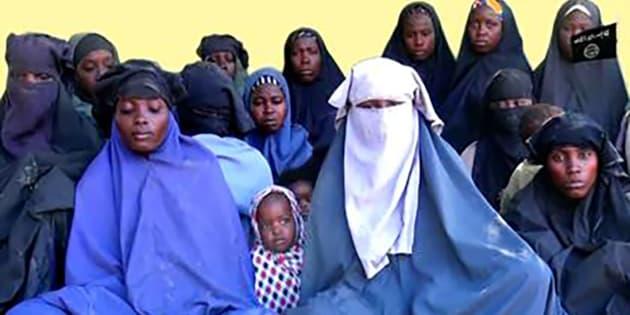 Une image extraite de la vidéo diffusée le 15 janvier par Boko Haram.