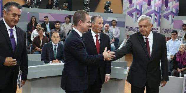 En el segundo debate presidencial uno de los bloques trató sobre el México en el mundo.