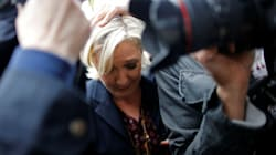 Marine Le Pen Egged During French Presidential Election Campaign