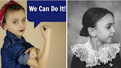 Mum And Daughter Create Inspiring Photo Project Honouring Feminist