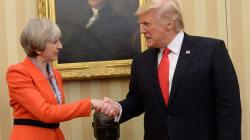 Theresa May Calls Trump 'Wrong' To Attack London Mayor, Sadiq