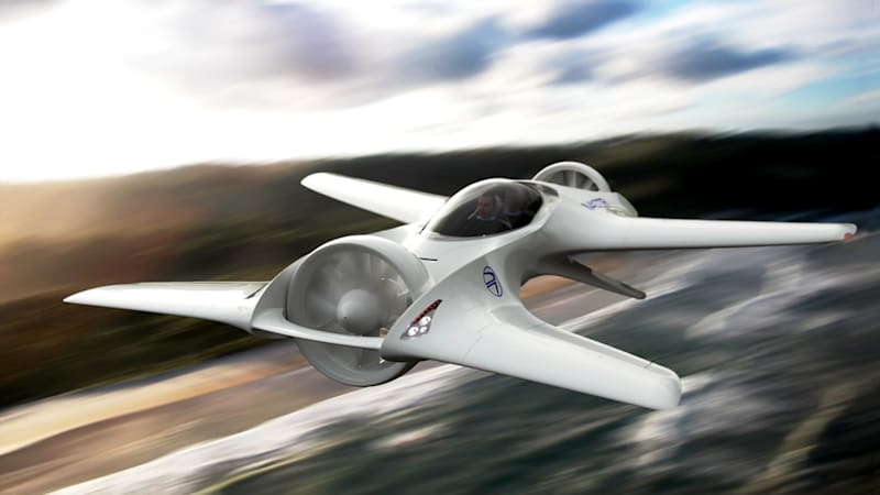 This flying car has a name you'll recognize: DeLorean