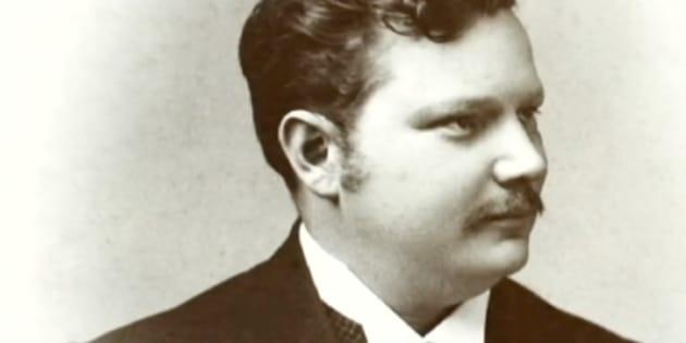 Otto Engelhardt , en un retrato familiar.