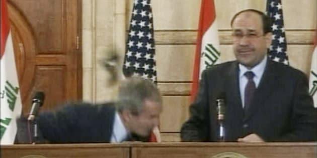 L'homme qui avait jeté sa chaussure sur Bush est candidat aux législatives en Irak
