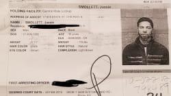 Jussie Smollett, accusé d'avoir mis en scène son agression, écroué pour