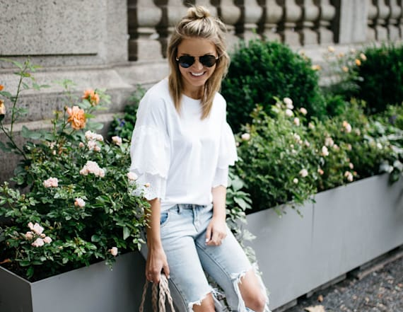 Street style tip of the day: Casual summer outfit