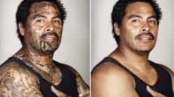 Las poderosas fotos que muestran cómo lucirían los exmiembros de pandillas sin