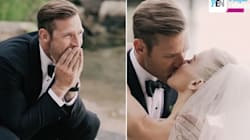 Julianne Hough's Groom Had A Powerful Reaction To Seeing Her As A