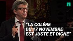 Mélenchon sur les blocages du 17 novembre: