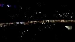 Le stade de Nice plongé dans le noir en plein