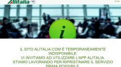 C'è una ragione se state provando ad accedere al sito di Alitalia senza