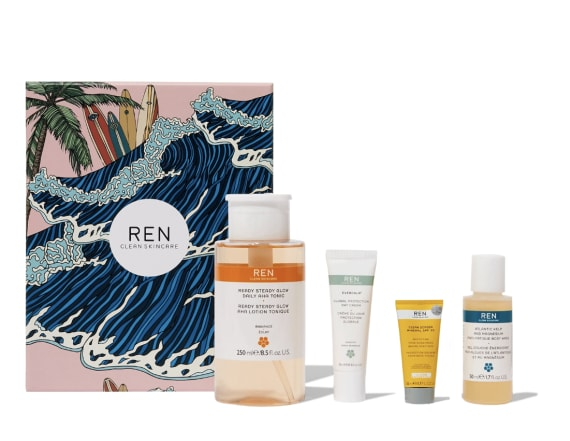 This set from Ren Skincare will make you feel fresh