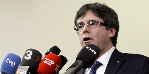 La justice suspend l'investiture de Puigdemont comme président régional
